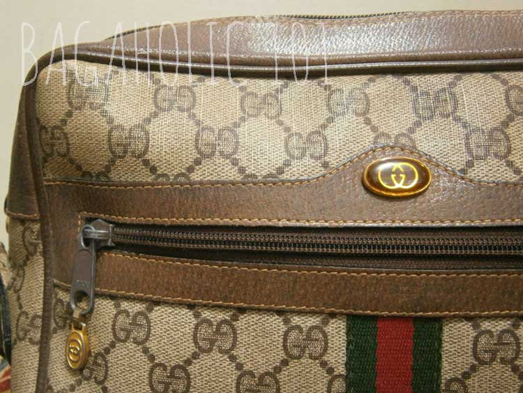 A Vintage Gucci Crossbody Bag From The Accessory Collection Authentication