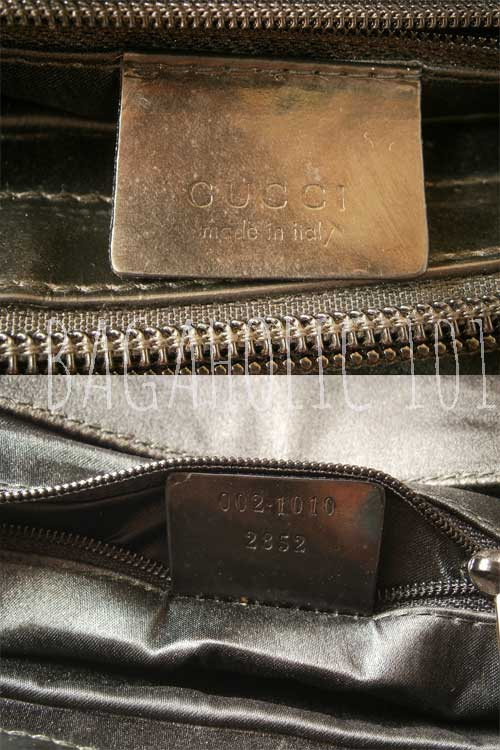 9a454a71c Bag serial number of authentic Gucci 002.1010 2852 - Gucci Serial Number  Check - How to