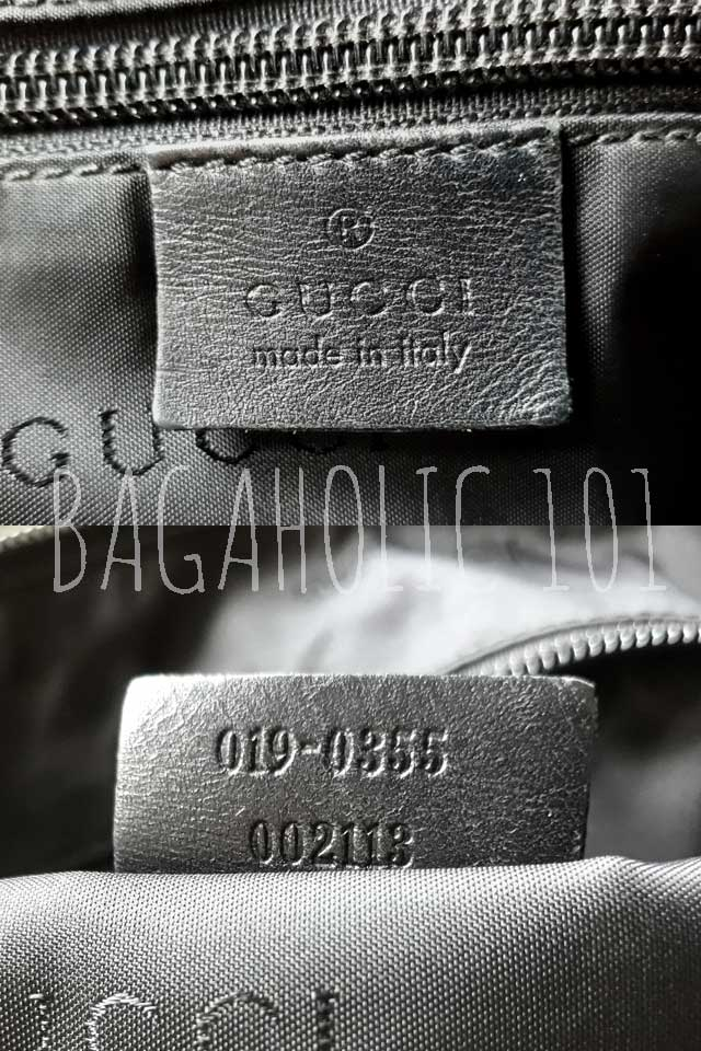 e81b561f7 Bag serial number of authentic Gucci 019.0355 002113 - Gucci Serial Number  Check - How to