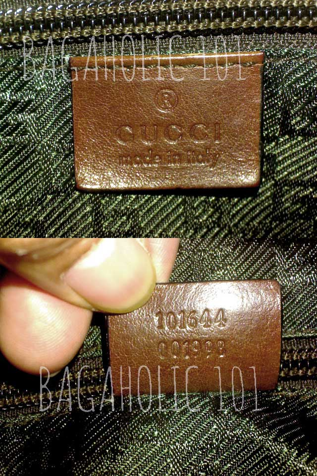 Bag serial number of authentic Gucci 101644 001998 - Gucci Serial Number Check - How to Tell if a Gucci Bag is Real