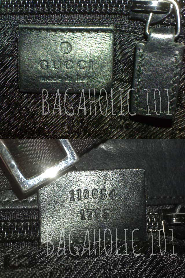 61c338994 Bag serial number of authentic Gucci 110054 1705 - Gucci Serial Number Check  - How to