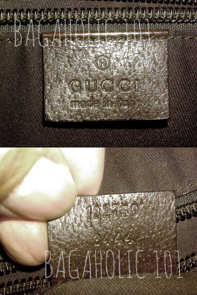 Bag serial number of authentic Gucci 122759 3444 - Gucci Serial Number Check - How to Tell if a Gucci Bag is Real