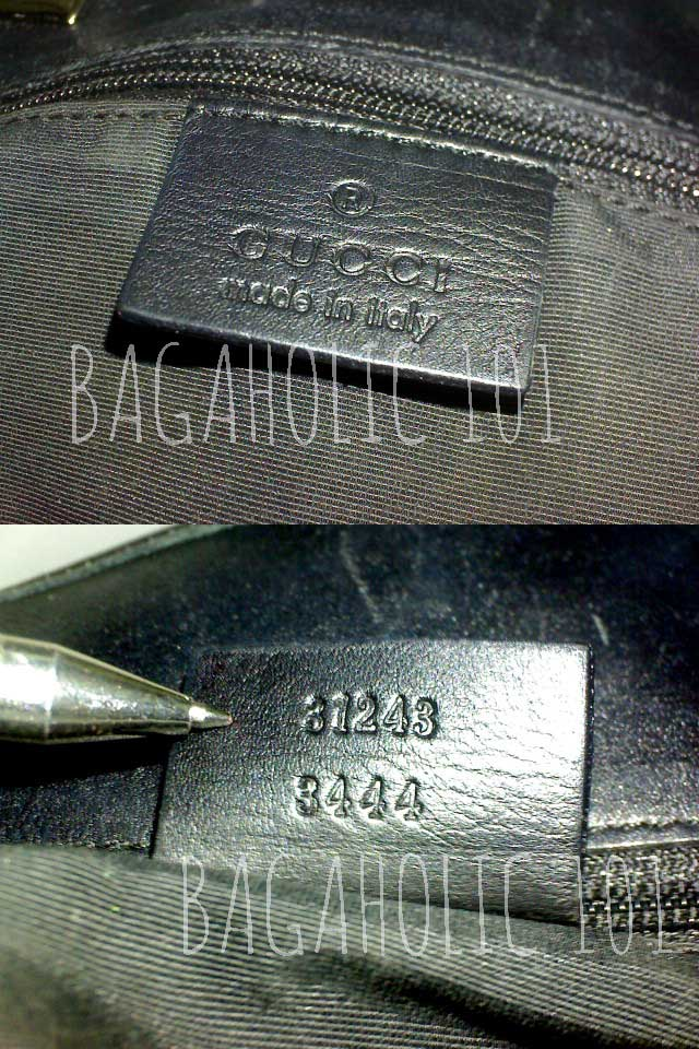 Bag serial number of authentic Gucci 31243 3444 - Gucci Serial Number Check - How to Tell if a Gucci Bag is Real