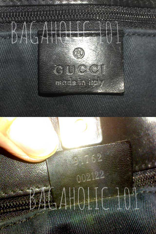 d35c4ba4e4b4 Bag serial number of authentic Gucci 91762 002122 - Gucci Serial Number  Check - How to