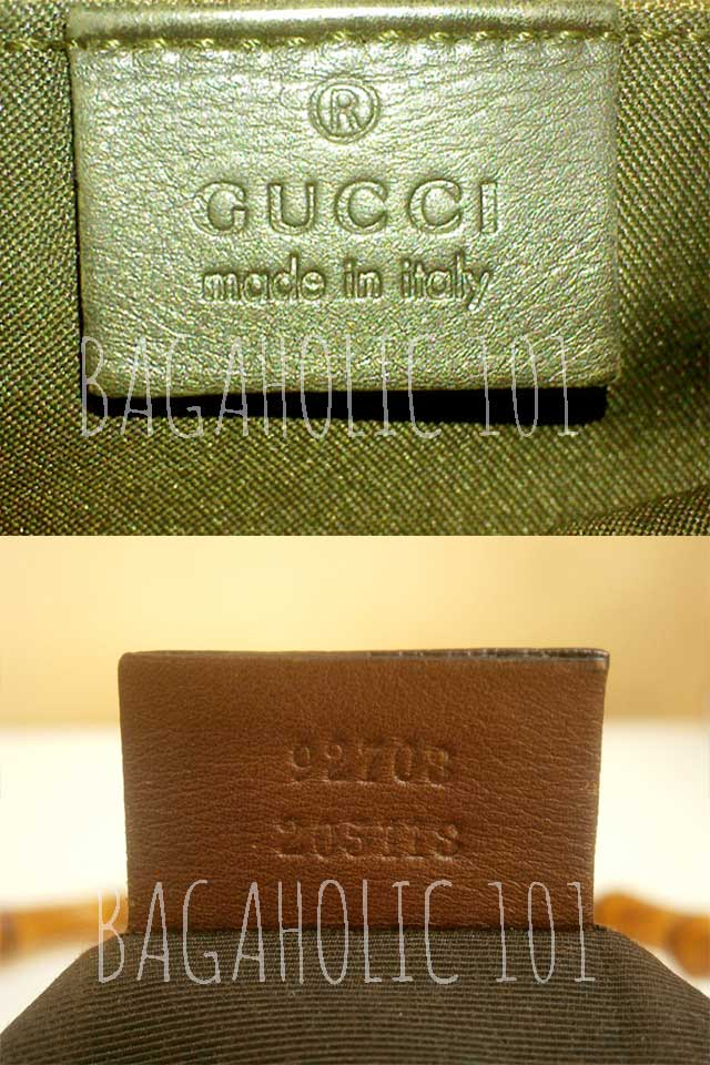 Bag serial number of authentic Gucci 92708 205118 - Gucci Serial Number Check - How to Tell if a Gucci Bag is Real