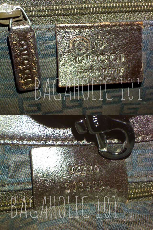 365c401e7b7176 Bag serial number of authentic Gucci 92736 203998 - Gucci Serial Number  Check - How to