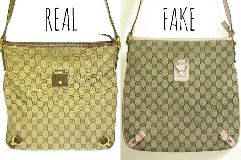 dc6a17ba55 Comparing a Real vs. Fake Gucci Abbey Crossbody bag - Tips on Original  Gucci Bags