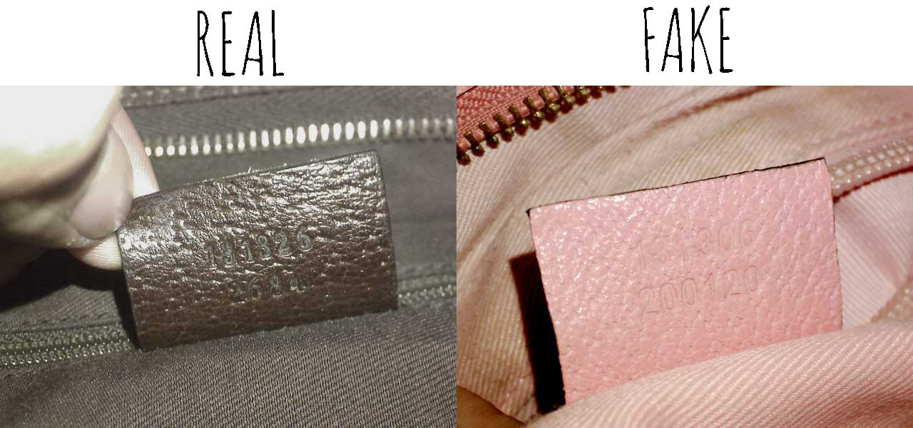 Comparing serial number-Comparing a Real vs. Fake Gucci Abbey Crossbody bag -Tips on Original Gucci Bags on Sale -How to Tell if a Gucci Bag is Real