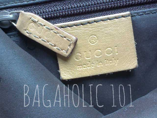 Due to use, the mark could fade - Tips on Original Gucci Bags on Sale - How to Tell