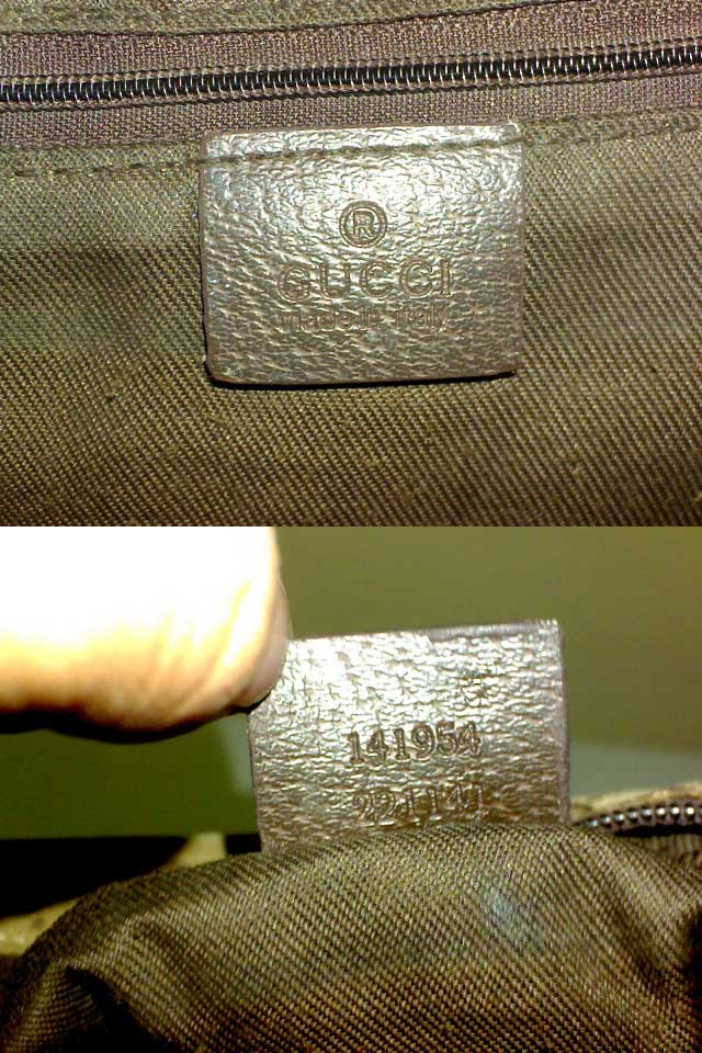 0cb4d557166bc6 Fake Gucci bag with serial number 141954 221141- Gucci Serial Number Check  - How to