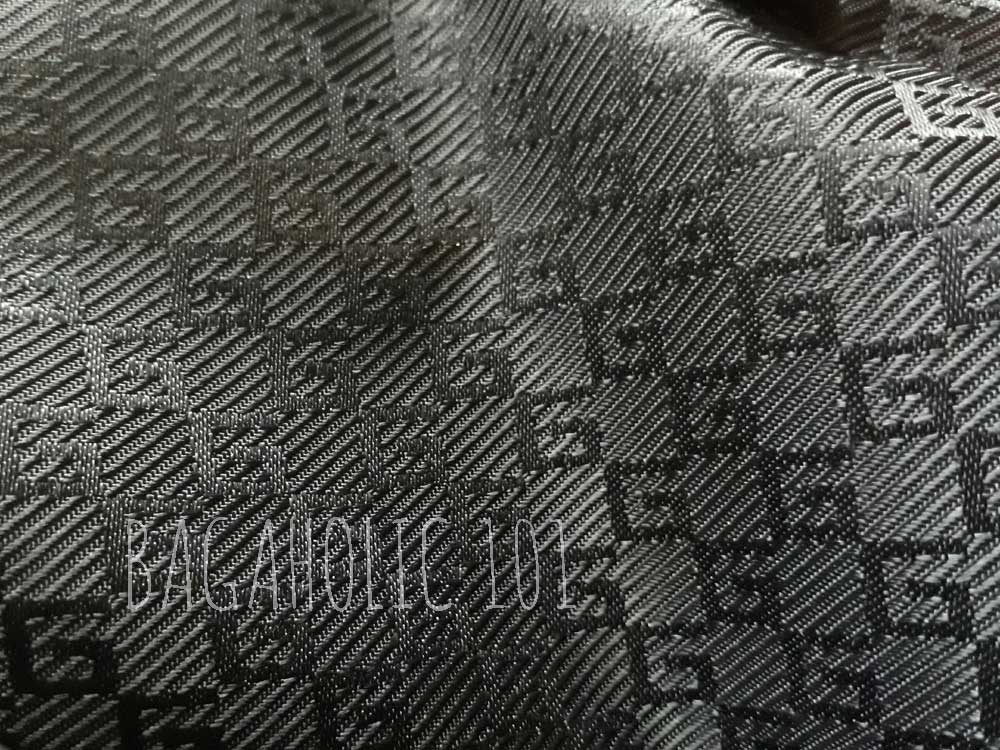 G print lining in waxy cotton canvas material of an authentic Gucci bag - Tips on Original Gucci Bags on Sale - How to Tell if a Gucci Bag is Real