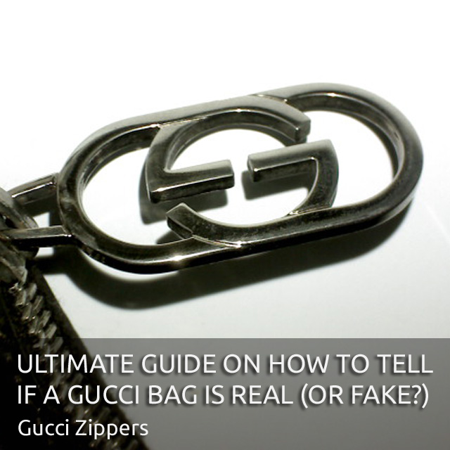 Gucci Zipper Details - 'Authentic Gucci Bag' - Ultimate Guide on How to Tell if a Gucci Bag is Real or Fake - Bagaholic 101
