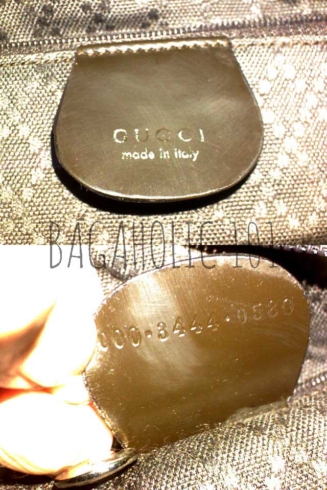 Gucci bag tag with serial number 000.34444.0580 - Original Gucci Bags on Sale - - Gucci Serial Number Check - How to Tell if a Gucci Bag is Real