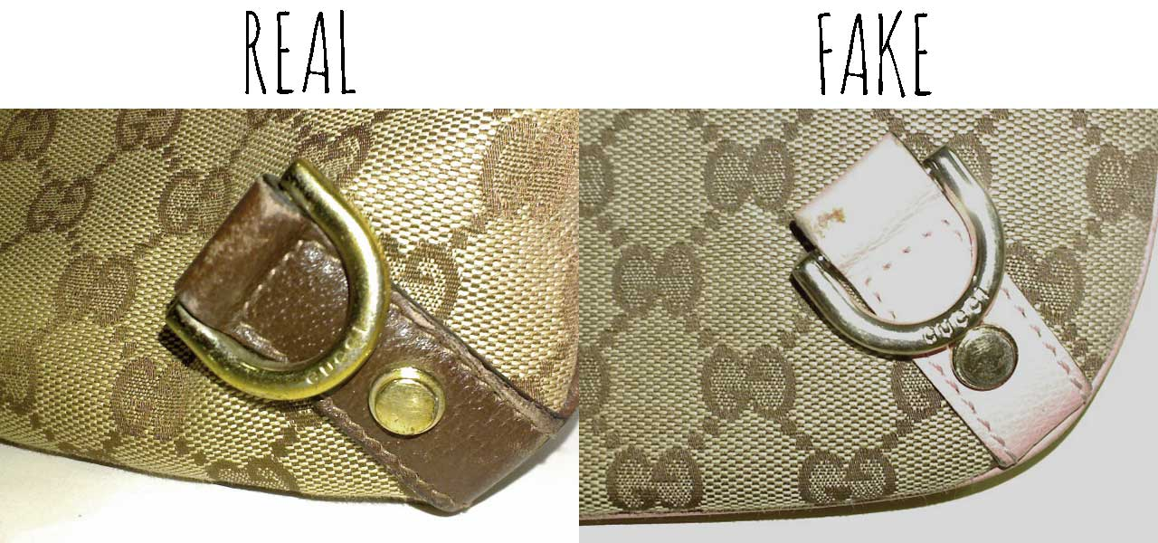 a1c356eb595 Gucci engraving - Comparing a Real vs. Fake Gucci Abbey Crossbody bag -  Tips on