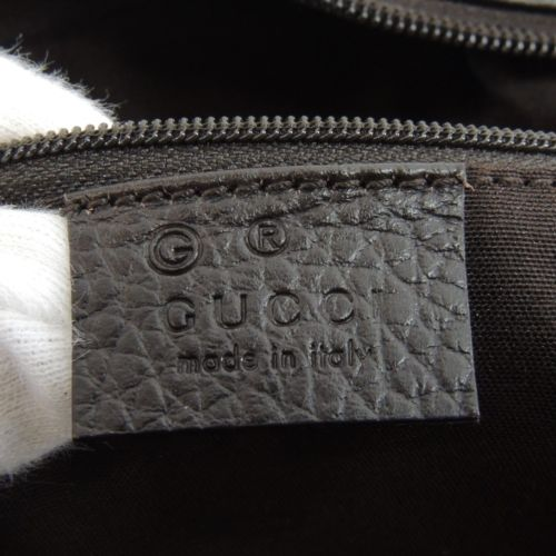 Gucci leather tag marked with G for outlet store 5 - Tips on Original Gucci Bags on Sale - How to Tell if a Gucci Bag is Real