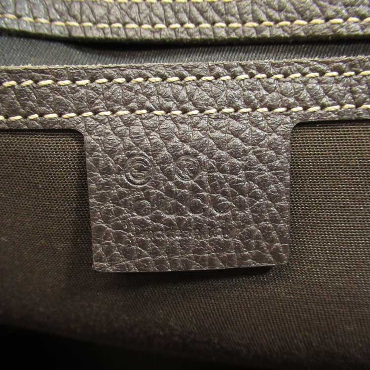 Gucci leather tag marked with G for outlet store 8 - Tips on Original Gucci Bags on Sale - How to Tell if a Gucci Bag is Real