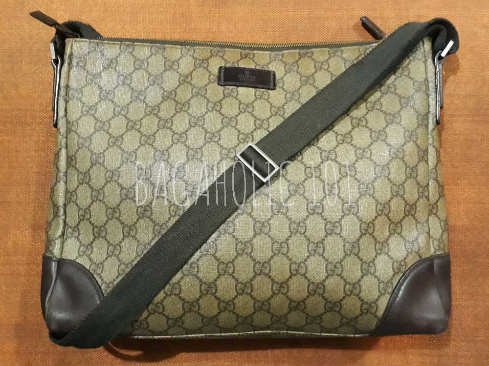 How to buy cheap Gucci bags - an Authentic Gucci messenger bag (with serial number 110054 203419) I bought for only $10 - Ultimate Guide Before Buying Purses on Ebay