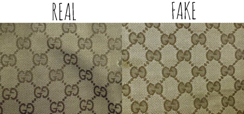 Monogram canvas -Comparing a Real vs. Fake Gucci Abbey Crossbody bag - Tips on Original Gucci Bags on Sale - How to Tell if a Gucci Bag is Real