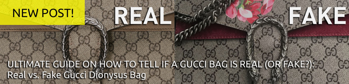 2fb8bb21eaeb New Post – 'Authentic Gucci Handbag' – Real vs Fake Gucci Dionysus Bag –  Bagaholic 101