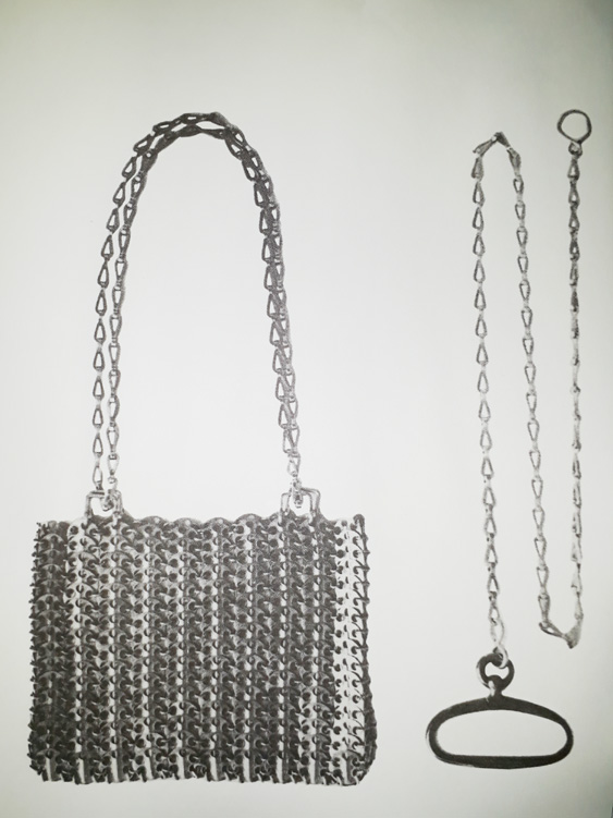7f27dd115365 PACO RABANNE METAL SHOULDER BAG (1969) - BAGAHOLIC 101