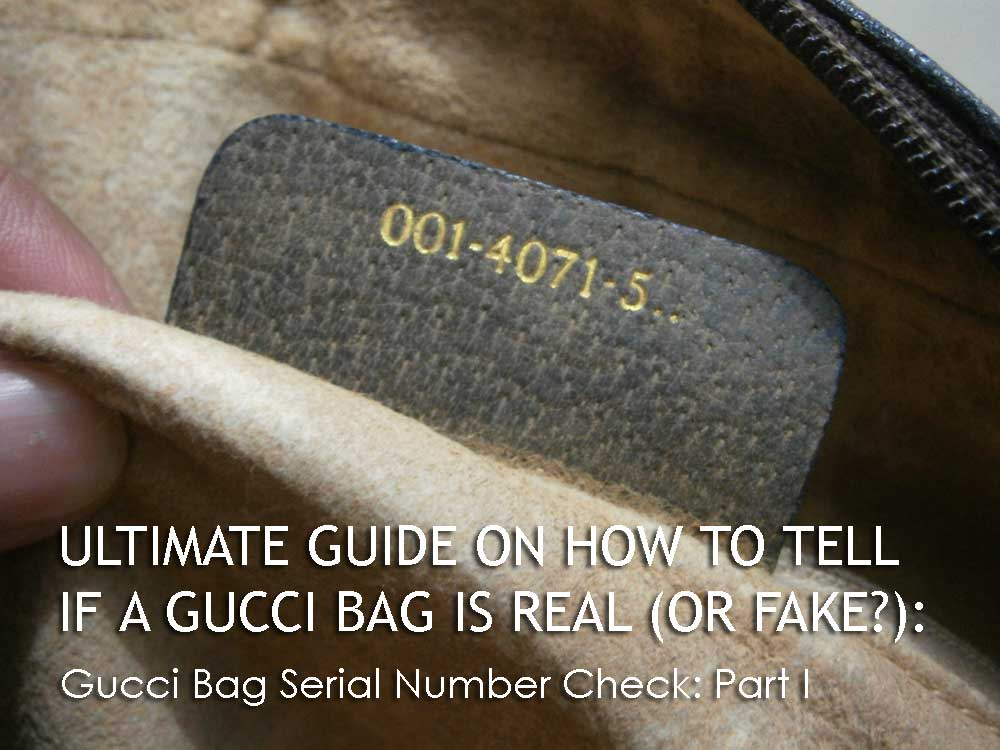 Gucci Serial Number Part I - The Gucci Material - Ultimate Guide Before Buying Gucci Purses on Ebay - How to Tell if a Gucci Bag is Real (or Fake)