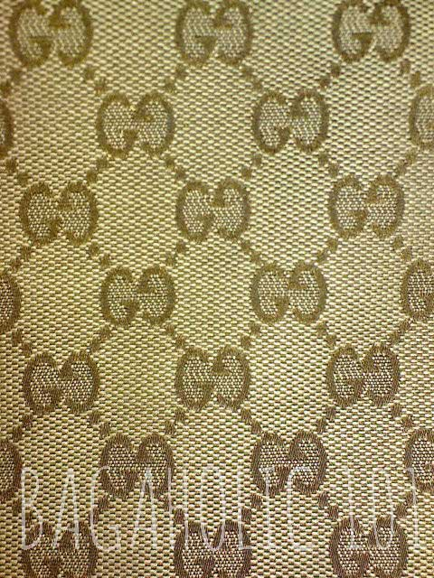 05ee82440 Standard Gucci monogram canvas material - Original Gucci Bags on Sale - How  to Tell if