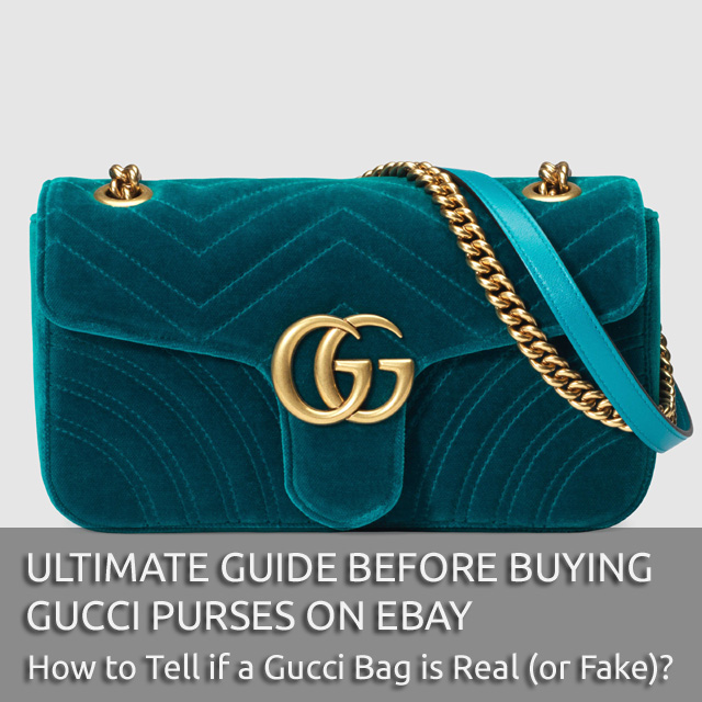 Ultimate Gucci Gude - 'Authentic Gucci Bag' - Ultimate Guide on How to Tell if a Gucci Bag is Real or Fake - Bagaholic 101