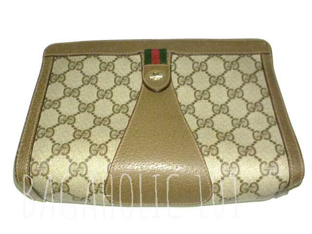 Vintage Gucci accessory collection pouch, with red & green stripe- Vintage Gucci Bag Authentication - Gucci Serial Number Check - How to Tell if a Gucci Bag is Real