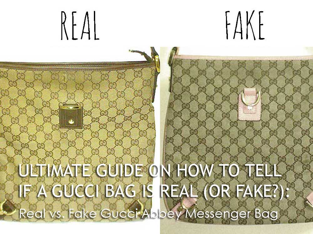 Real vs. Fake Gucci Abbey Messenger Bag - Ultimate Guide Before Buying Gucci Purses on Ebay - How to Tell if a Gucci Bag is Real (or Fake)