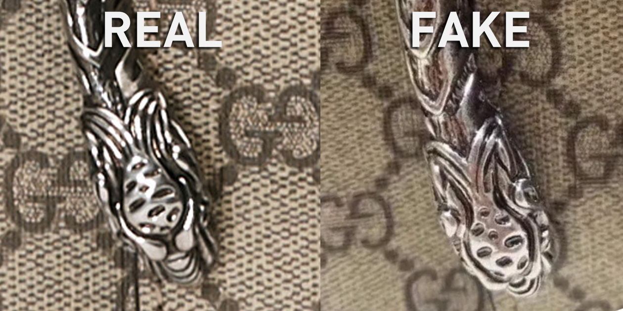 Another Comparison of the Tiger Head Hardware Detail
