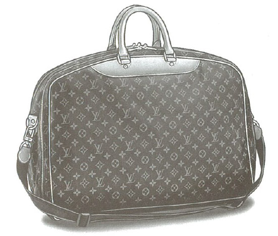 Louis Vuitton Monogram Canvas Alizé 3 poches bag (3 Compartments) M41391