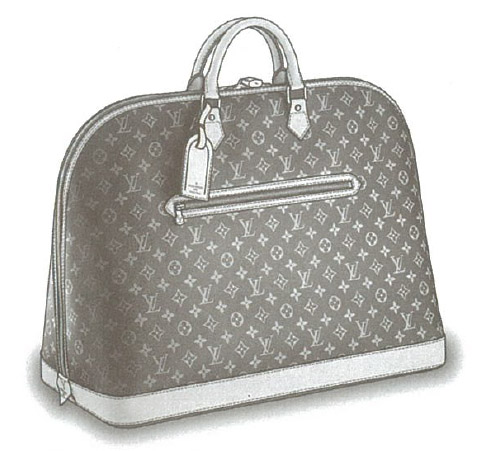 Louis Vuitton Monogram Canvas Alma Voyage GM bag M41445