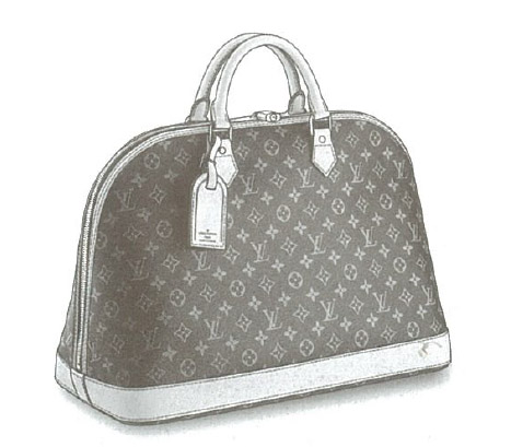 Louis Vuitton Monogram Canvas Alma Voyage MM bag M41446