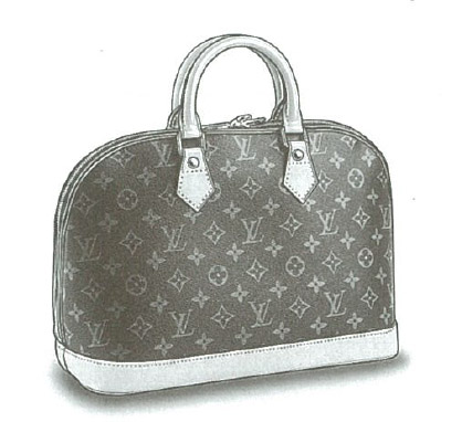 Louis Vuitton Monogram Canvas Alma bag (with optional shoulder strap) M51130
