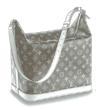 Louis Vuitton Monogram Canvas Amfar three bag M47275