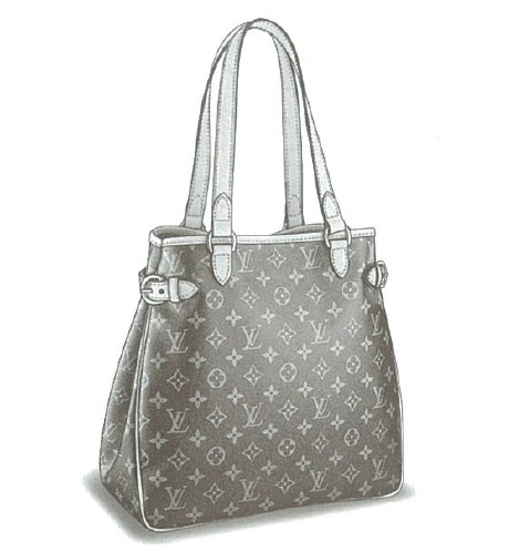 Louis Vuitton Monogram Canvas Batignolles Vertical bag M51153