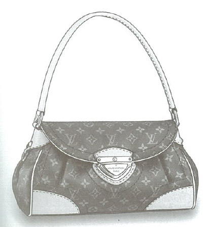 Louis Vuitton Monogram Canvas Beverly MM bag M40121
