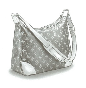 Louis Vuitton Monogram Canvas Boulogne bag M51265