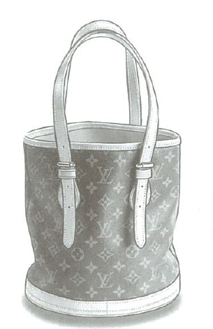 Louis Vuitton Monogram Canvas Bucket bag M42236, M42238