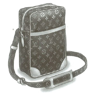 Louis Vuitton Monogram Canvas Danube bag M45266