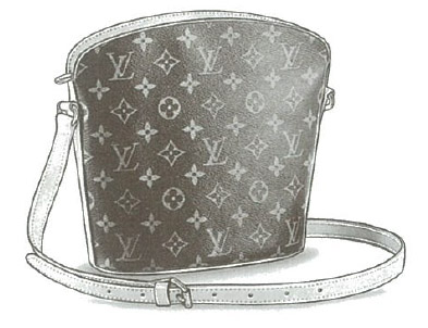 Louis Vuitton Monogram Canvas Drouot bag M51290