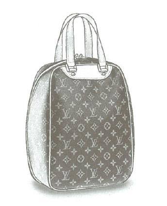 Louis Vuitton Monogram Canvas Excursion (Shoe bag) M41450