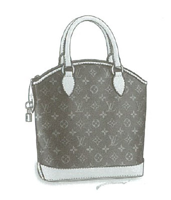 Louis Vuitton Monogram Canvas Lockit bag (M40102)