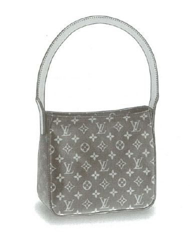 Louis Vuitton Monogram Canvas Looping MM bag M51146