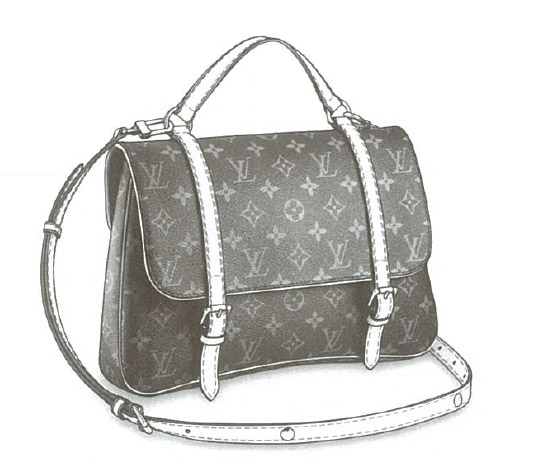 Louis Vuitton Monogram Canvas Marelle Sac à dos bag M51158