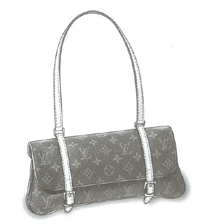 Louis Vuitton Monogram Canvas Marelle bag M51157
