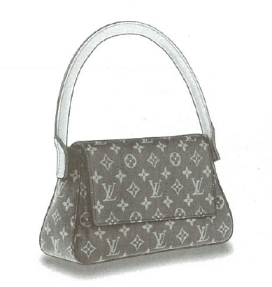 Louis Vuitton Monogram Canvas Mini Looping bag M51147