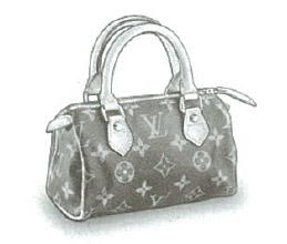 Louis Vuitton Monogram Canvas Mini Sac HL bag (with optional shoulder strap) M41534