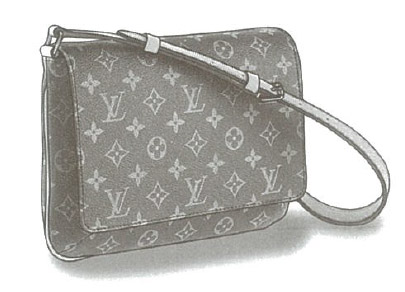 Louis Vuitton Monogram Canvas Musette Tango bag M51257, M51388