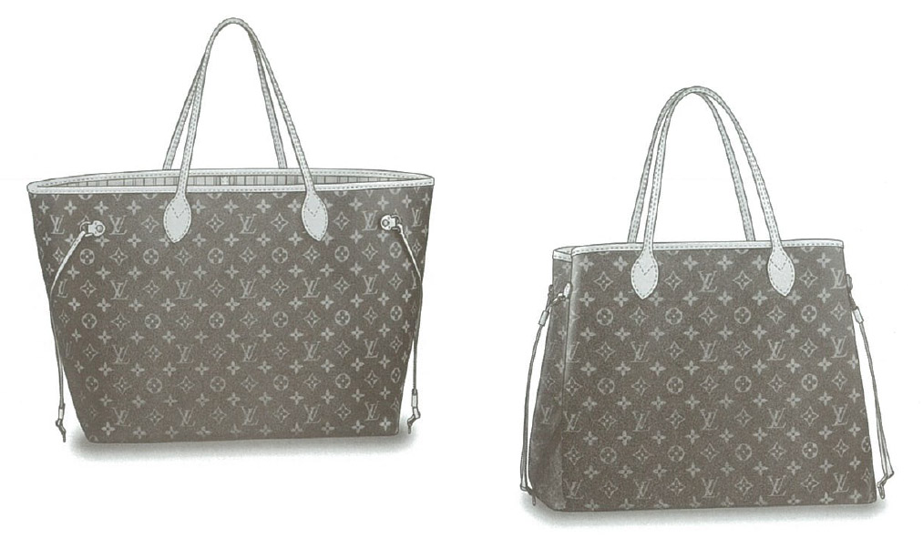 Louis Vuitton Monogram Canvas Neverfull GM bag M40157